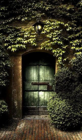 Ancient Entry, Sigurta Park, Verona, Italy