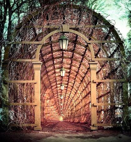 Arched Portal, Tallin, Estonia