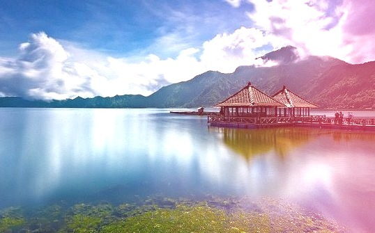 by tropicaLiving - Jessy Eykendorp on Flickr.Lake Batur in Kintamani - Bali, Indonesia.