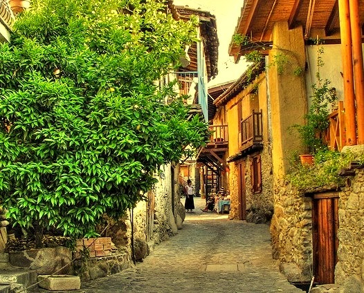 by Mike G. K. on Flickr.On the streets of Kakopetria village in Cyprus.