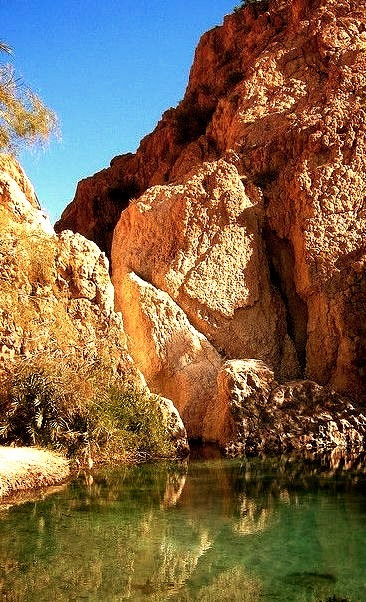 Clear waters at Chebika Oasis, Tunisia