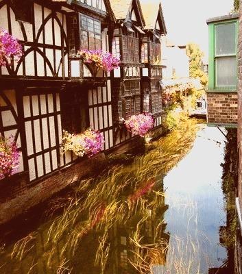 Canal, Canterbury, England