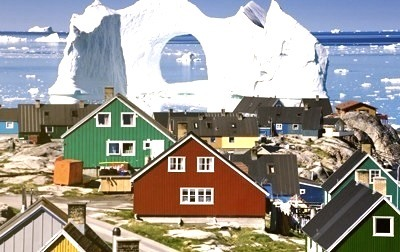 Floating Iceberg, Greenland