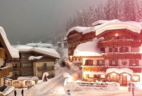 Mountain Village, Madonna di Campiglio, Italy