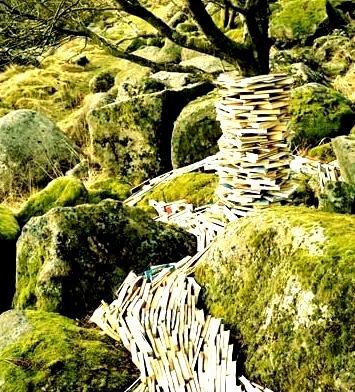 Literary Waterfall, Norway
