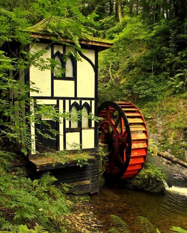 Little Isabella Waterwheel at Groudle Glen / Isle of Man